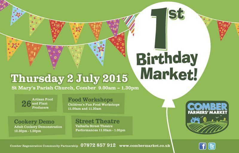 Comber Farmers' Market Celebrates 1st Birthday