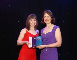 The Award for the Best New Retail Product for businesses with up to 25 employees Debbie Riley, Good Granola Company & Sarah Mackie